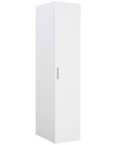 Xora ŠATNÍ SKŘÍŇ, bílá, 40/185/54 cm - bílá