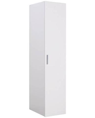 Xora ŠATNÍ SKŘÍŇ, bílá, 45/185/54 cm - bílá