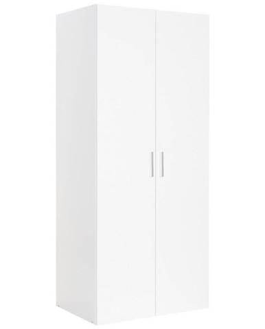 Xora ŠATNÍ SKŘÍŇ, bílá, 80/185/54 cm - bílá