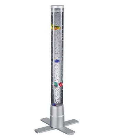 Xora STOLNÍ LED LAMPA, 24,6/61 cm - průhledné, titanová