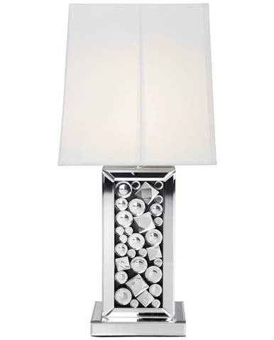 Ambia Home STOLNÍ LAMPA, E27, 28/51/33 cm - bílá