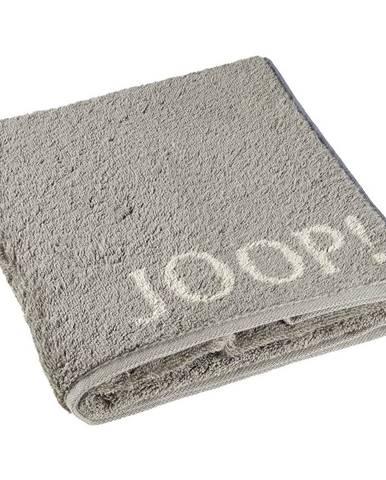 Joop! RUČNÍK, 50/100 cm, barvy grafitu, šedá - barvy grafitu, šedá