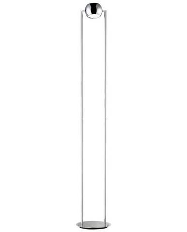 LED STOJACÍ LAMPA, 187 cm - barvy chromu, barvy niklu