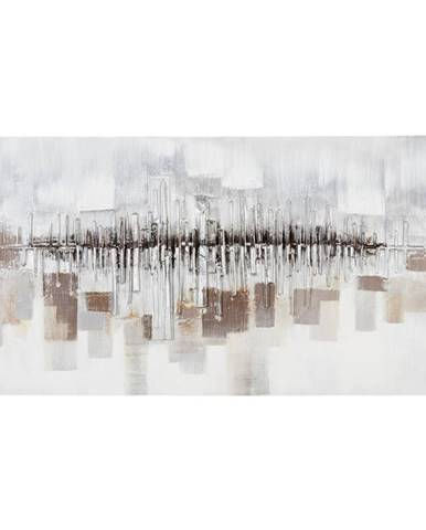 OLEJOMALBA, abstraktní, 70/150 cm - vícebarevná