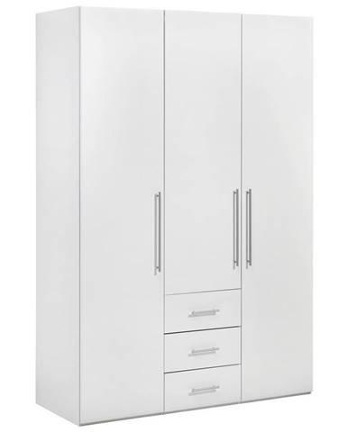 Xora ŠATNÍ SKŘÍŇ, bílá, 147/219/59 cm - bílá