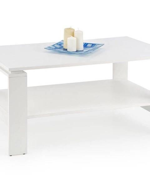Halmar Halmar Konferenční stolek ANDREA, bílý