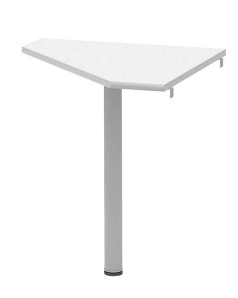 Halmar Tempo Kondela Rohový stolek Johan 2 New 6, bílý