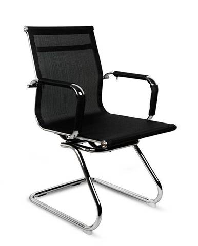 ADK Trade s.r.o. Konferenční židle ADK Factory Skid, černá
