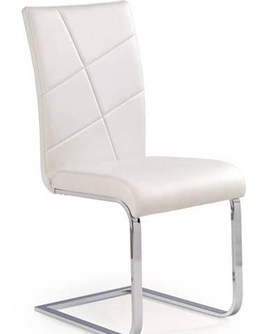 Halmar Jídelní židle K108, bílá