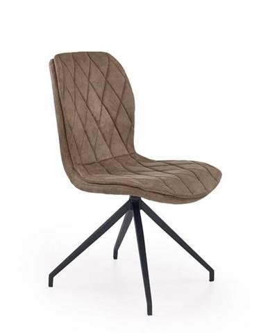 Halmar Jídelní židle K237, světle hnědá