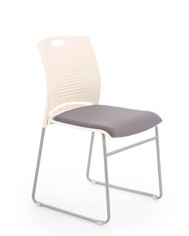 Halmar Konferenční židle Cali, šedá