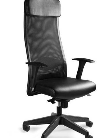 UNIQUE Kancelářské křeslo Ares Soft PU, černá eko kůže