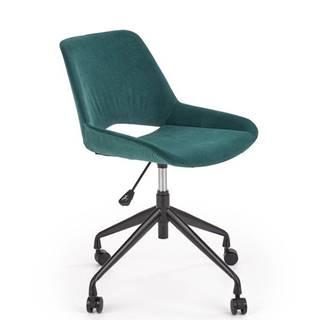 Halmar Dětská židle Scorpio, tmavě zelená