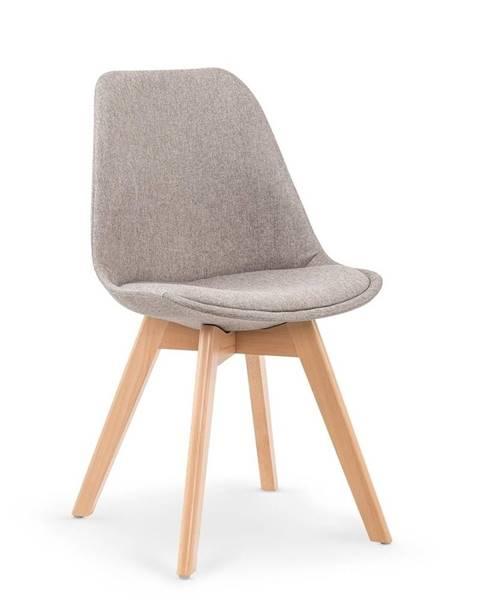 Halmar Halmar Jídelní židle K303, světle šedá
