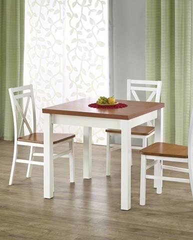 Halmar Jídelní stůl GRACJAN, olše/bílý