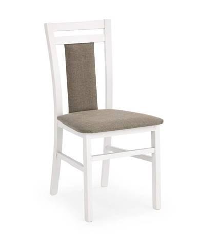 Halmar Jídelní židle Hubert 8, bílá