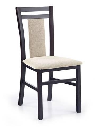 Halmar Jídelní židle Hubert 8, wenge
