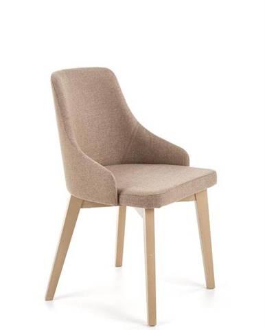 Halmar Jídelní židle Toledo, dub sonoma/hnědá