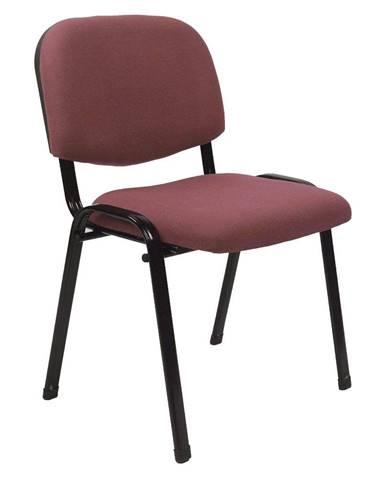 Tempo Kondela Konferenční židle Iso 2 New, červenohnědá