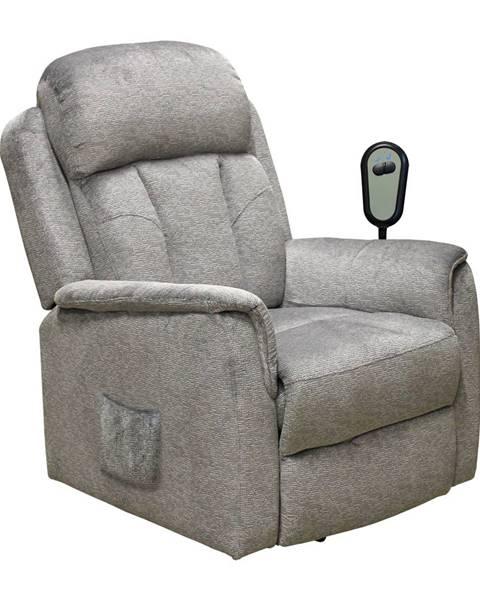 IDEA Nábytek Relaxační křeslo COMFORT šedé