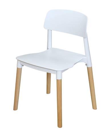 Jídelní židle GAMA bílá