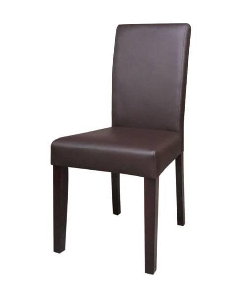 IDEA Nábytek Židle PRIMA hnědá 3035