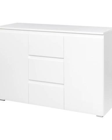 Komoda 2 dveře + 3 zásuvky IMAGE 4 bílá