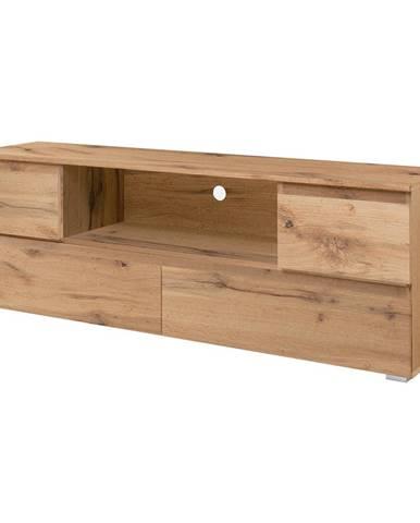 TV stolek IMAGE 18 zlatý dub