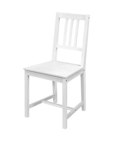 Židle 869B bílý lak