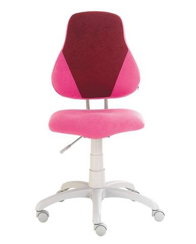 Dětská židle FUXO V, růžová/vínová