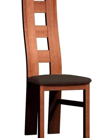 Čalouněná židle TADEÁŠ, dub stoletý/Victoria 36