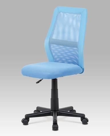 Kancelářská židle KA-V101 BLUE, modrá