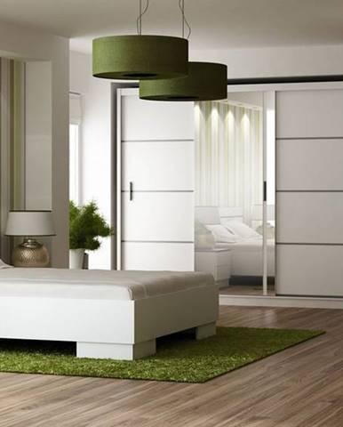 Ložnice VISTA bílá (postel 160, skříň, komoda, 2 noční stolky)