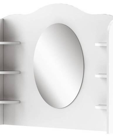 Nádstavec se zrcadlem MIA MI-06, bílý/růžov