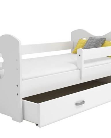 Zásuvka pod postel MIKI, bílá