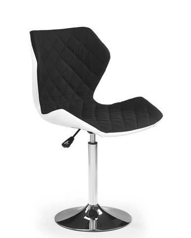 Dětská židle MATRIX 2, bílá/černá