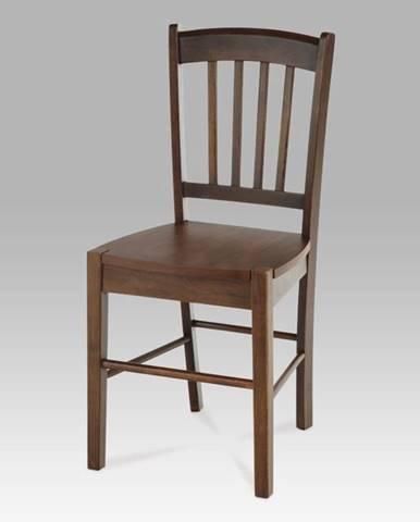 Jídelní židle celodřevěná AUC-005 WAL, ořech