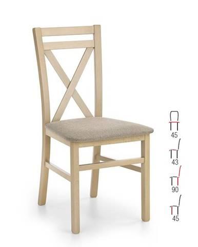 Židle DARIUSZ, dub sonoma
