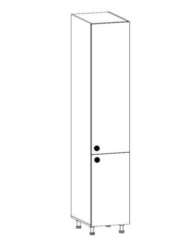 PROWANSJA vysoká skříňka D40SP pravá, borovice andersen