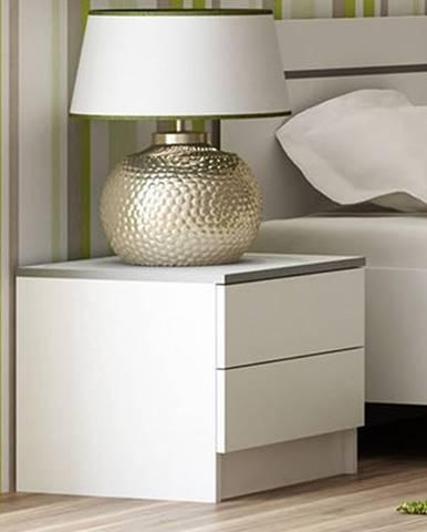 VISTA noční stolek, bílá