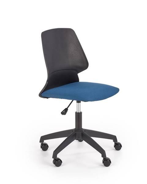 Smartshop Dětská kancelářská židle GRAVITY, modrá/černá