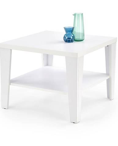 Čtvercový konferenční stolek MANTA KWADRAT, bílá