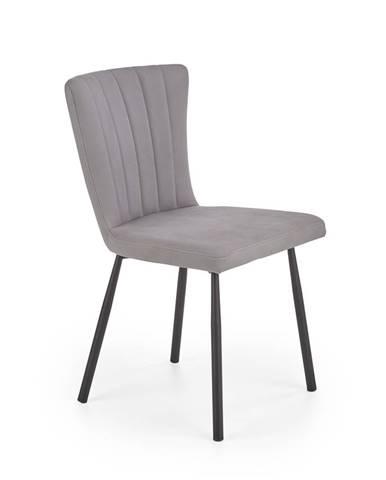 Jídelní židle K-380, šedá
