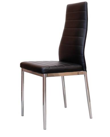 Jídelní židle MILÁNO, černá