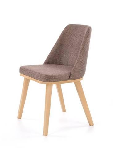 Jídelní židle PUEBLO, hnědá