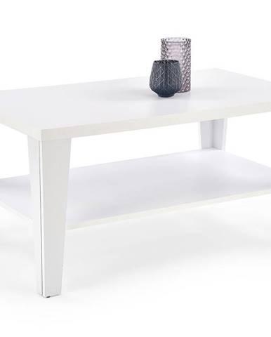 Konferenční stolek MANTA, bílá