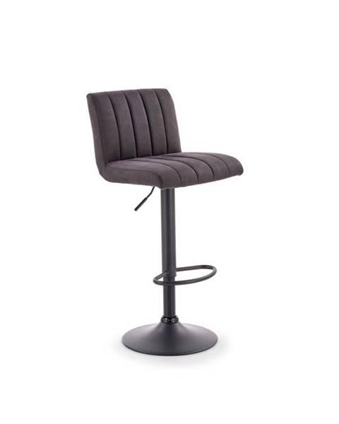 Smartshop Barová židle H-89, tmavě šedá
