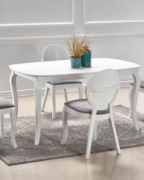 Smartshop Rozkládací jídelní stůl FARABA, bílá