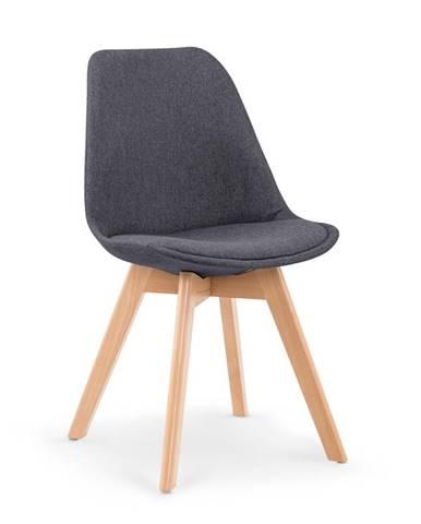 Jídelní židle K-303, tmavě šedá