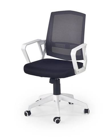 Kancelářské křeslo ASCOT, černá/šedá/bílá